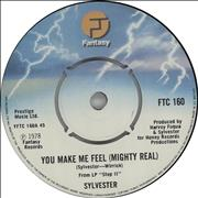 Click here for more info about 'Sylvester - You Make Me Feel (Mighty Real)'