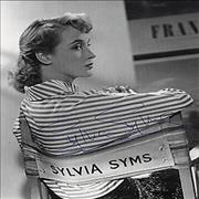 Click here for more info about 'Sylvia Syms - Autographed Portrait Picture'
