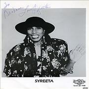 Click here for more info about 'Syreeta - Autographed Publicity Photograph'
