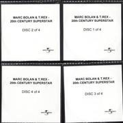 Click here for more info about 'T-Rex / Tyrannosaurus Rex - 20th Century Superstar - Set of 4 CDRs'