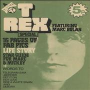 Click here for more info about 'T-Rex / Tyrannosaurus Rex - A Disco 45 Magazine - T-Rex Special'