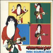 Click here for more info about 'T-Rex / Tyrannosaurus Rex - Christmas Bop - Red Vinyl'