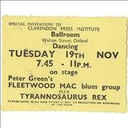 Click here for more info about 'T-Rex / Tyrannosaurus Rex - Clarendon Press Institute Ballroom'