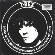 Click here for more info about 'T-Rex / Tyrannosaurus Rex - Dandy In The Underworld / Celebrate Summer - Red & Blue Vinyl - Sealed'