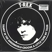 Click here for more info about 'T-Rex / Tyrannosaurus Rex - Dandy In The Underworld / Celebrate Summer - Red & Blue Vinyl'