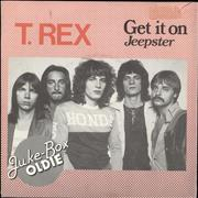 Click here for more info about 'T-Rex / Tyrannosaurus Rex - Get It On / Jeepster'