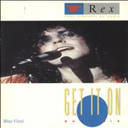 Click here for more info about 'T-Rex / Tyrannosaurus Rex - Get It On - Blue Vinyl'