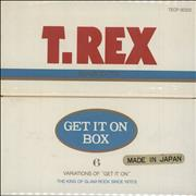 Click here for more info about 'T-Rex / Tyrannosaurus Rex - 'Get It On' Box + Obi Sticker'
