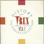 Click here for more info about 'T-Rex / Tyrannosaurus Rex - History Of T.Rex - The Singles Collection 1968-77: Volume 1'