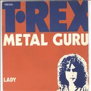 Click here for more info about 'T-Rex / Tyrannosaurus Rex - Metal Guru - WOS'