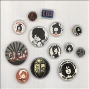 Click here for more info about 'T-Rex / Tyrannosaurus Rex - Quantity of Thirteen Vintage Badges - Set A'