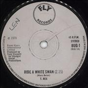 Click here for more info about 'T-Rex / Tyrannosaurus Rex - Ride A White Swan - 1st - Solid - EX'