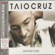 Click here for more info about 'Taio Cruz - Departure + Obi - Sealed'