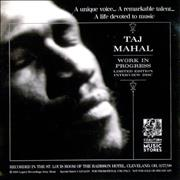 Click here for more info about 'Taj Mahal - Work In Progress - Interview Disc'