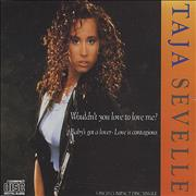 Click here for more info about 'Taja Sevelle - Wouldn't You Love To Love Me?'