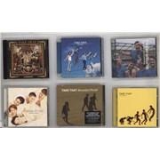 Take That 5 CD Albums + 7 Robbie CDs UK CD album