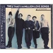 Take That A Million Love Songs Japan CD album