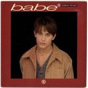 "Take That Babe + Mark Frame Sleeve UK 7"" vinyl"