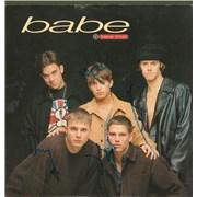 "Take That Babe - Autographed UK 7"" vinyl"