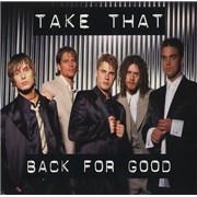 """Take That Back For Good + Sleeve UK 7"""" vinyl"""