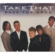 Take That Back For Good USA CD single