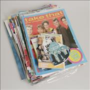 Click here for more info about 'Take That - Collection Of Magazines, Cuttings and Stickers'