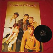 """Take That Could It Be Magic? - Poster Sleeve UK 12"""" vinyl"""