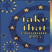 Click here for more info about 'Take That - Eurotour 1995 + Ticket stub and magazine'