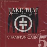 Click here for more info about 'Take That - It Only Take A Minute/I Found Heaven/Back For Good'