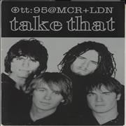 Take That @MCR + LDN + ticket stubs UK tour programme