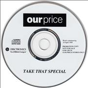 Click here for more info about 'Take That - Our Price Special - EX'