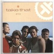 """Take That Pray UK 7"""" vinyl"""