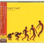 Take That Progress + Obi - Sealed Japan CD album Promo