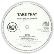 Click here for more info about 'Take That - Sure (Thumpers Club Mix)'