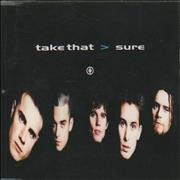 Click here for more info about 'Take That - Sure'