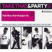 Take That Take That & Party + Slipcase Japan CD album Promo