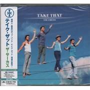 Take That The Circus Japan CD album Promo