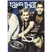 Take That UK Tour '92 UK tour programme
