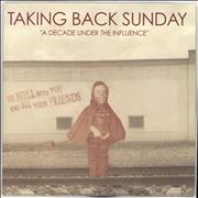 Click here for more info about 'Taking Back Sunday - A Decade Under The Influence - Blue Vinyl'