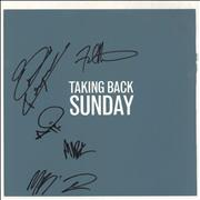 Click here for more info about 'Taking Back Sunday - Tell All Your Friends - Orange Vinyl - Autographed'