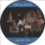 Click here for more info about 'Talking Heads - And She Was'
