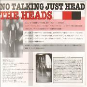 Click here for more info about 'Talking Heads - No Talking Just Head Handbill - Pair Of'