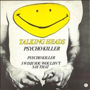 Click here for more info about 'Talking Heads - Psycho Killer - EX'