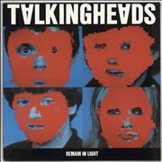 Click here for more info about 'Talking Heads - Remain In Light + lyric insert'