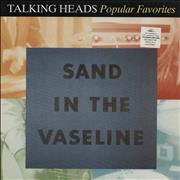 Click here for more info about 'Talking Heads - Sand In The Vaseline - Popular Favorites 1976-1992 - Stickered sleeve'