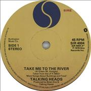 Click here for more info about 'Talking Heads - Take Me To The River'