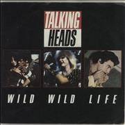 Click here for more info about 'Talking Heads - Wild Wild Life - Solid'