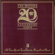 Tamla Motown The Motown 20th Anniversary Album UK 2-LP vinyl set
