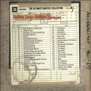 Tamla Motown The Ultimate Rarities Collection 1: Motown Sings Motown Treasures USA CD album