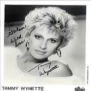 Click here for more info about 'Tammy Wynette - Autographed Publicity Photograph'